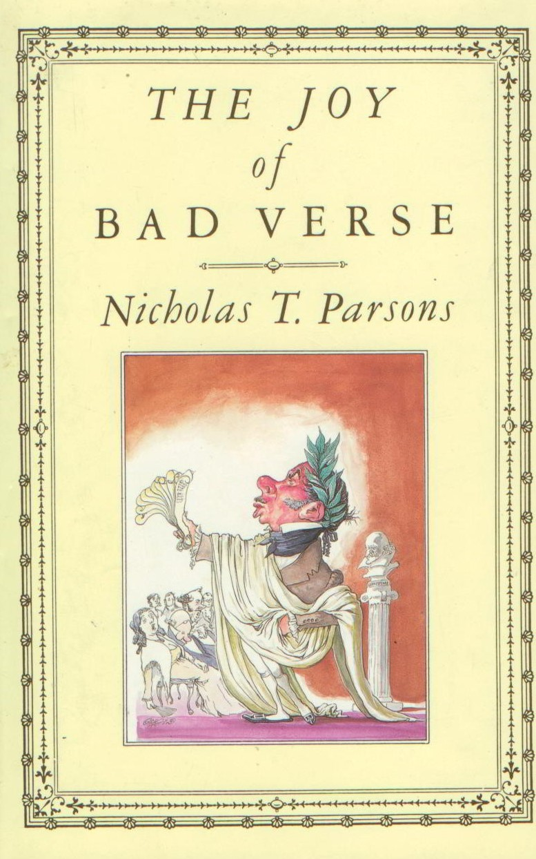 Image for The Joy of Bad Verse