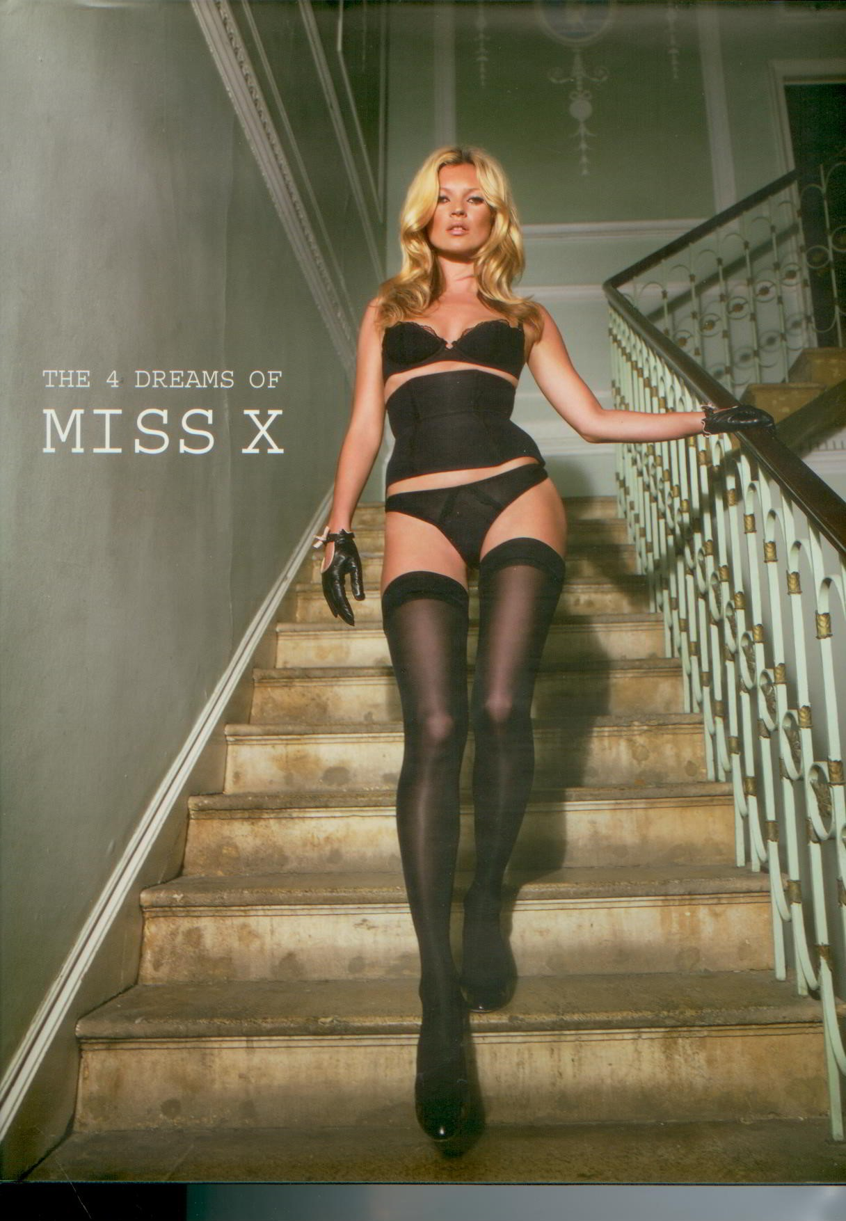 Image for Kate Moss : The 4 Dreams of Miss X